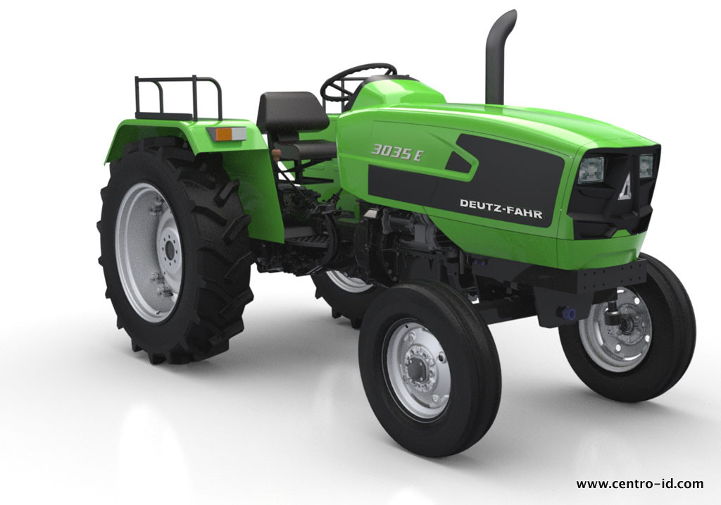 Tractors for Indian Market – Centroid Design
