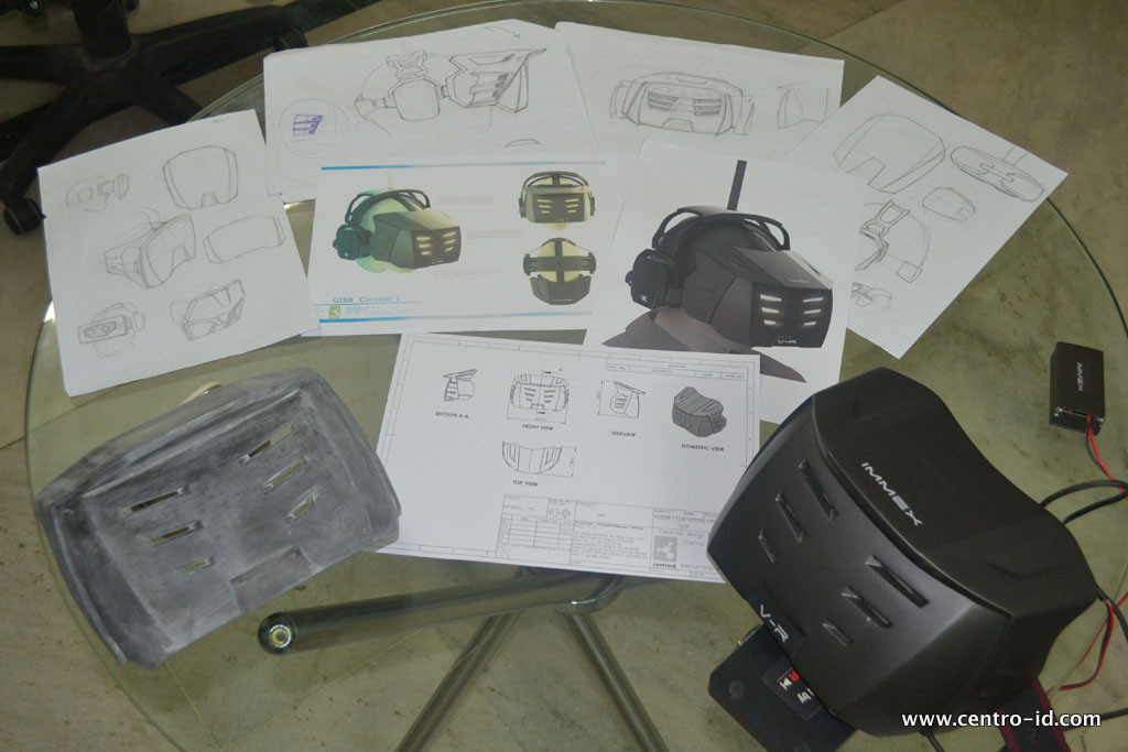 Strategy, Direction sketch, Concept Rendering, Engg, Prototype & Final product, VR Masks, Launch 2014